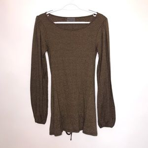 Michael Stars | Bronze Shine Sweater Tunic Top